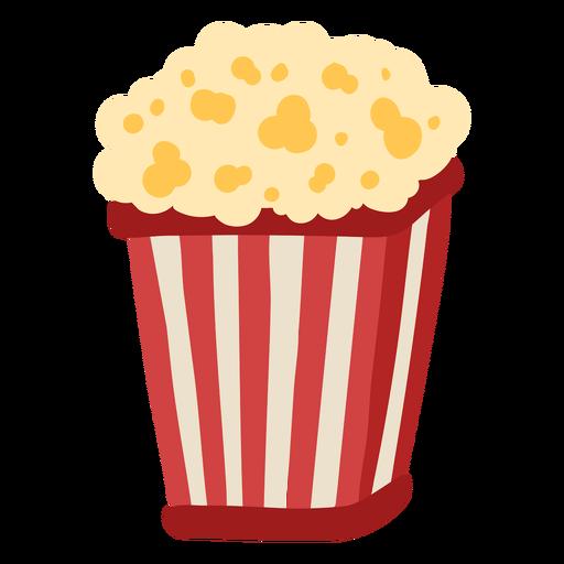 Carnival popcorn color Transparent PNG