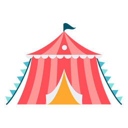 Carnival small tent color