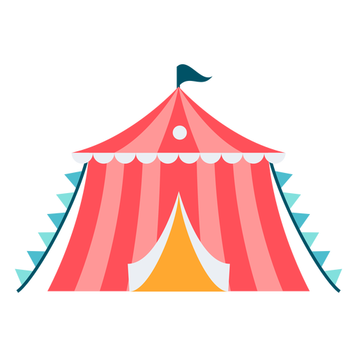 Carnival small tent color Transparent PNG