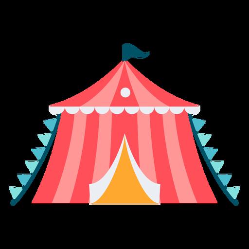 Cor pequena da barraca do carnaval Transparent PNG