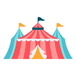 Carnival tent color