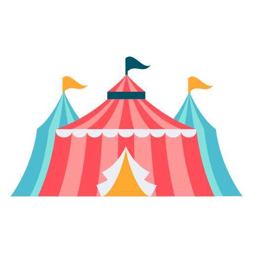 Carnival tent color Transparent PNG