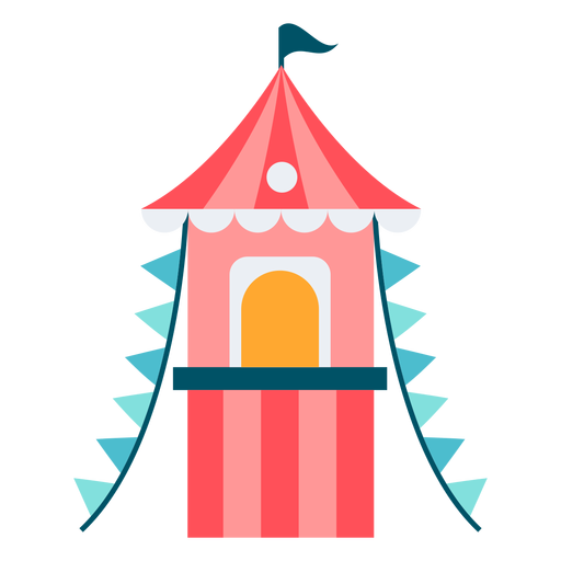 Carnival ticket booth color Transparent PNG