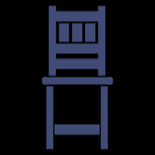Mobília da cadeira monocromática