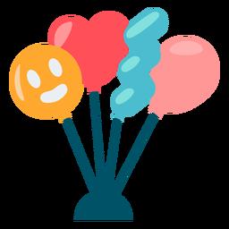 Color de globos lindos