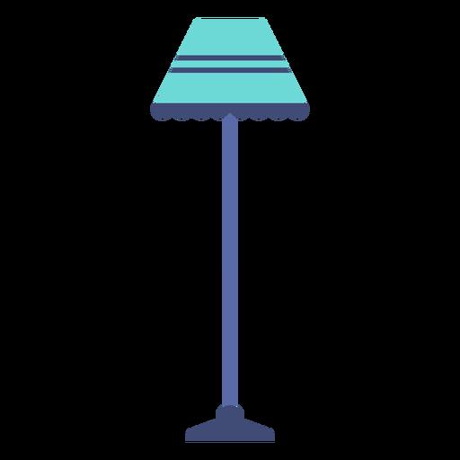 Lámpara de pie plana