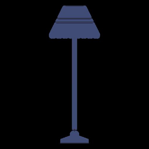 Lámpara de pie monocromo Transparent PNG
