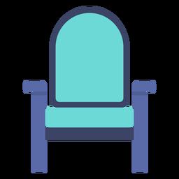 Furniture armchair flat