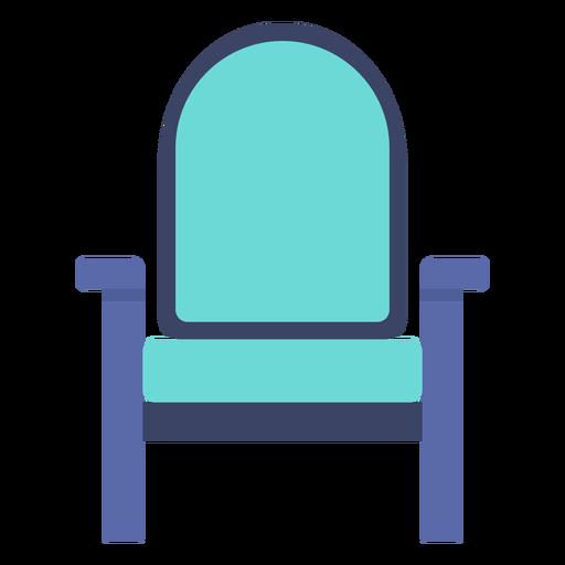 Furniture armchair flat Transparent PNG