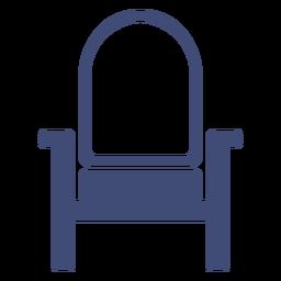 Furniture armchair monochrome