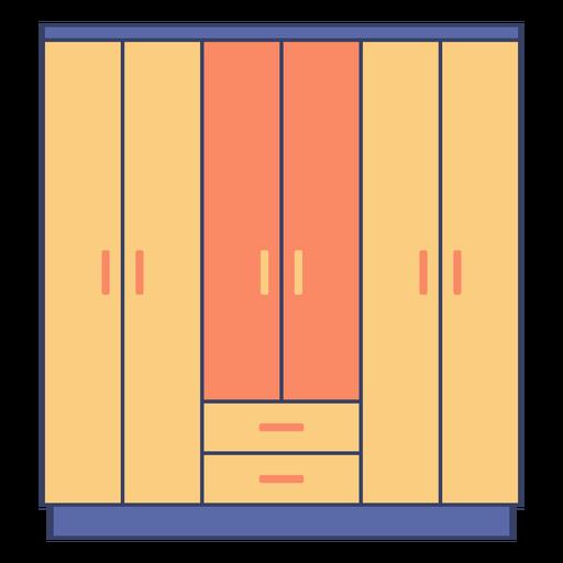 Furniture wardrobe flat