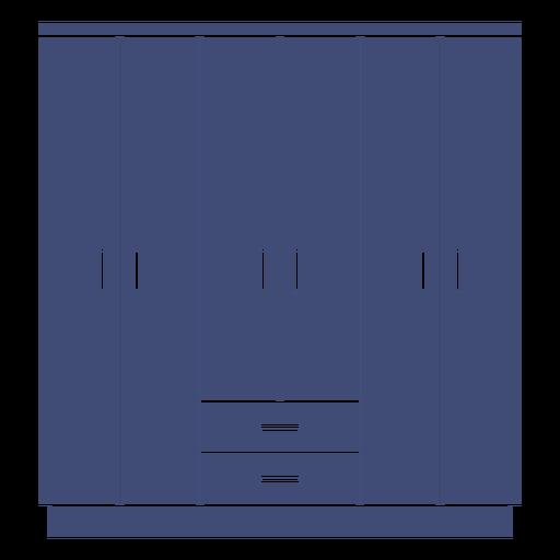 Furniture wardrobe monochrome