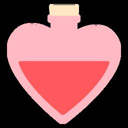 Hearts bottle color