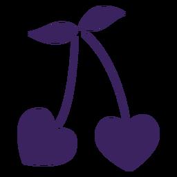 Cereza de corazones