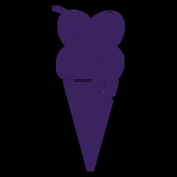 Hearts ice cream