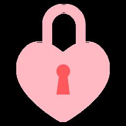Hearts lock color