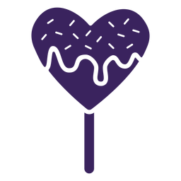 Piruleta de corazones