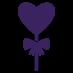 Arco de piruleta de corazones