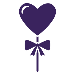 Hearts lollipop bow