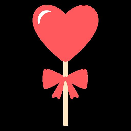 Hearts lollipop bow color