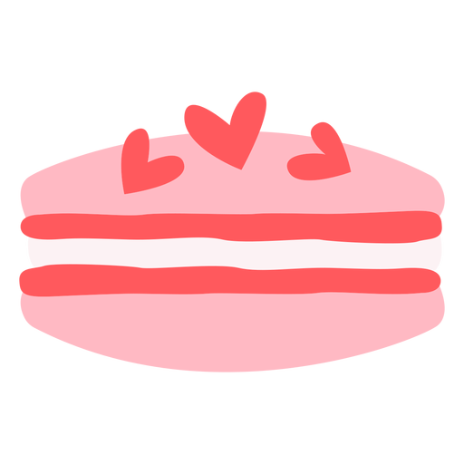 Corazones color macaron