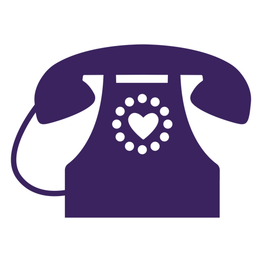 Hearts phone Transparent PNG