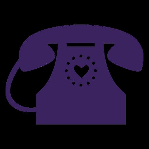 Teléfono de corazones