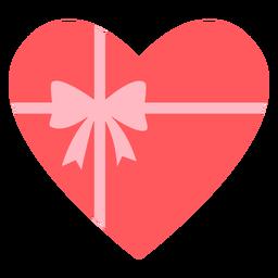 Corações presente cor