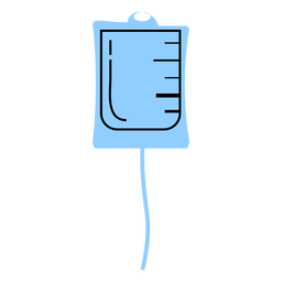 Hospital medical drip color