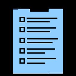 Hospital note tablet color