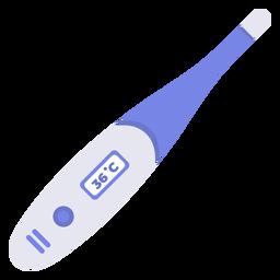 Termómetro de hospital plano