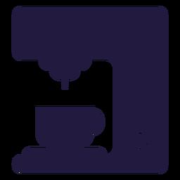 Utensílios de cozinha cafeteira