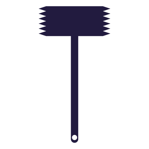 Kitchen utensils meat tenderizer