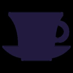Xícara de chá de utensílios de cozinha