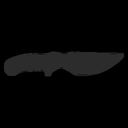 Knife skinner silhouette