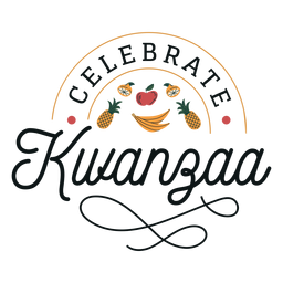 Kwanzaa celebra letras