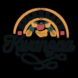 Kwanzaa celebrate lettering