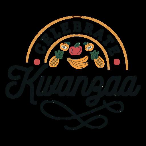 Kwanzaa celebra letras Transparent PNG