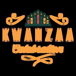 Celebración de Kwanzaa letras kwanzaa