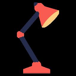 Lámpara de mesa plana