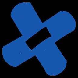 Emplastro adesivo para equipamento de enfermagem