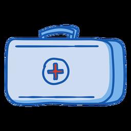 Equipo de enfermería kit de primeros auxilios color