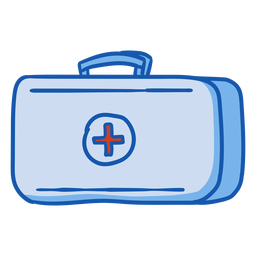 Nurse equipment first aid kit color