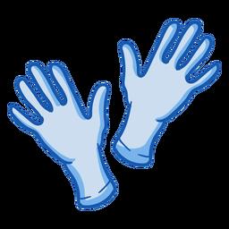 Equipo de enfermera guantes color