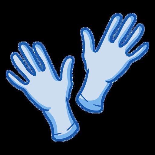 Color de guantes de equipo de enfermera