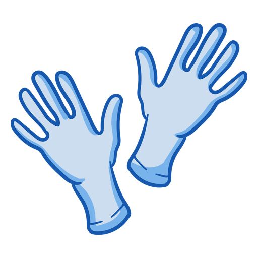Nurse equipment gloves color Transparent PNG