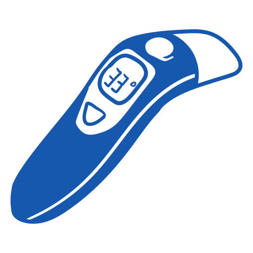 Nurse equipment infrared thermometer Transparent PNG