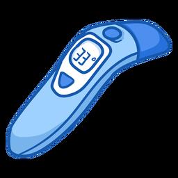 Equipo de enfermería termómetro infrarrojo color