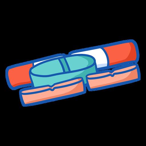 Nurse equipment pills color