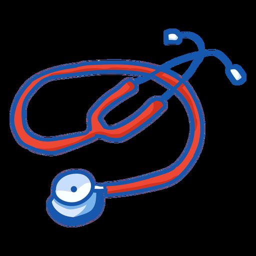 Color de estetoscopio de equipo de enfermera